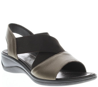 Flexus by Spring Step Leather Sandals - Emma - A340423