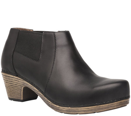 Dansko Leather Ankle Boots - Marilyn