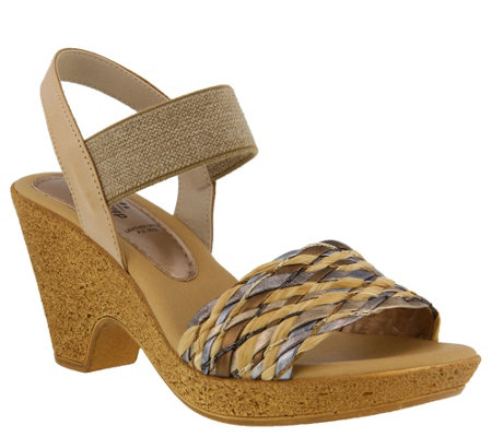 Spring Step Leather Sandals - Batsheva