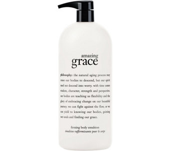 philosophy super-size amazing grace firming body emulsion, 32oz. - A68223