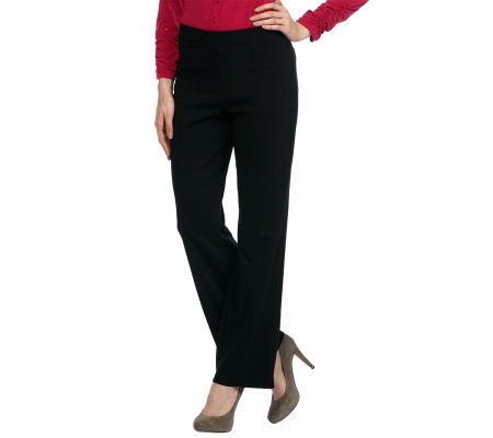Liz Claiborne New York Ponte Knit Trouser Pants
