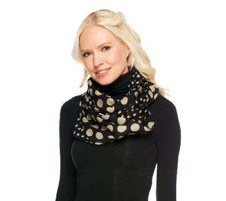 Liz Claiborne New York Twin Dot Infinity Scarf