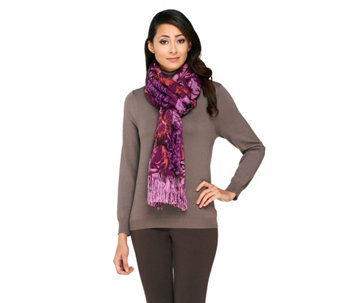 Layers by Lizden Printed Marvelush Scarf - A257924