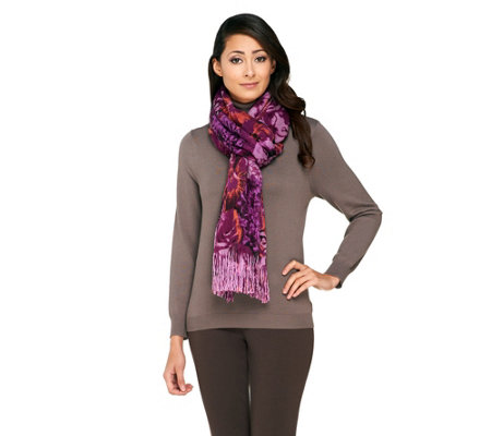 Layers by Lizden Printed Marvelush Scarf