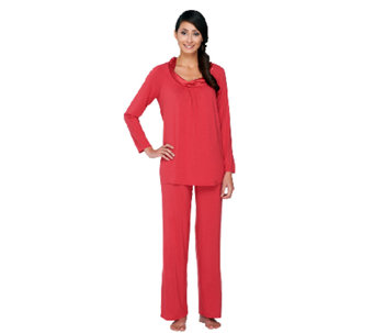Midnight by Carole Hochman 2 Piece Modal Pajama Set - A258924