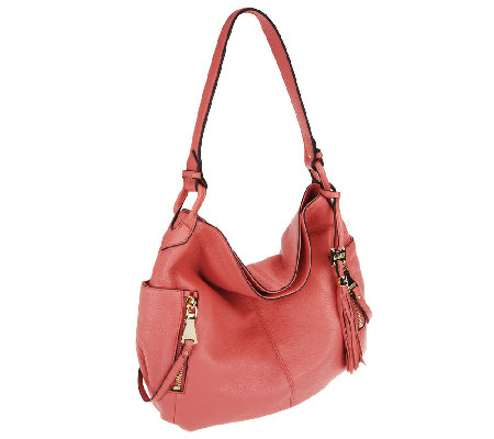 """As Is"" Aimee Kestenberg Pebble Leather Dana Hobo"