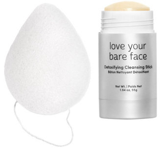 Julep Bare Face Cleansing Balm Stick & Konjac Sponge Set - A279224