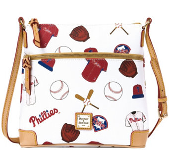 Dooney & Bourke MLB Phillies Crossbody - A280024