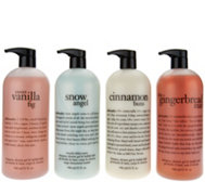 philosophy super-size 4-piece holiday shower gel favorites