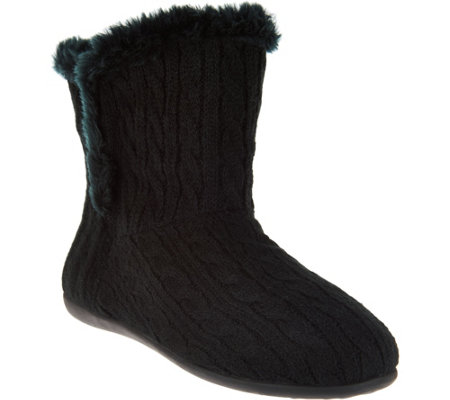 Vionic Orthotic Slipper Boots - Kari