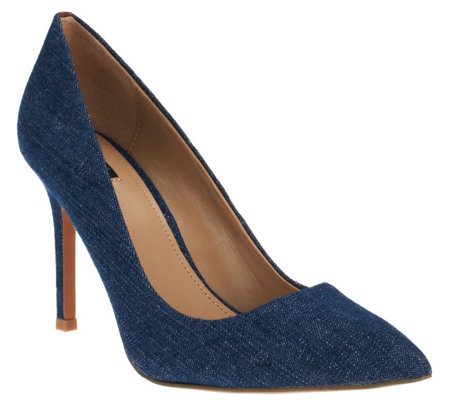 """As Is"" G.I.L.I Pointed Toe Pumps - Jill"