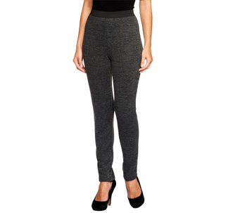 """As Is"" Mark of Style by Mark Zunino Knit Slim Leg Pants - A285924"