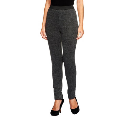 """As Is"" Mark of Style by Mark Zunino Knit Slim Leg Pants"