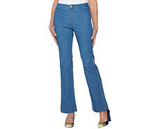 C. Wonder Regular Denim Boot Cut Fly Front Jeans - A286424