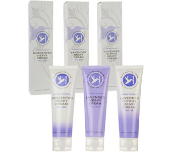 Hummingbird Farms Set of 3 Heavy Creams, 3 oz. - A287024