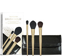 bareMinerals The Brush Hour 3-pc Brush Collection & Brush Roll - A291524