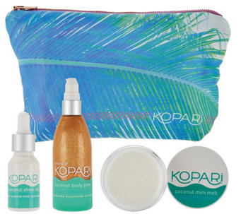 Kopari Coconut Oil 3-Piece Gift Set with Bag - A291724
