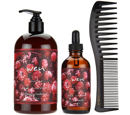 WEN by Chaz Dean Winter 3-Piece Treatment Kit Auto-Delivery