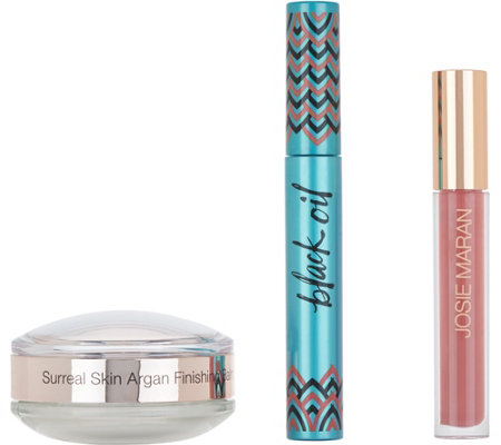 Josie Maran Surreal Skin Mascara & Lip Gloss Kit
