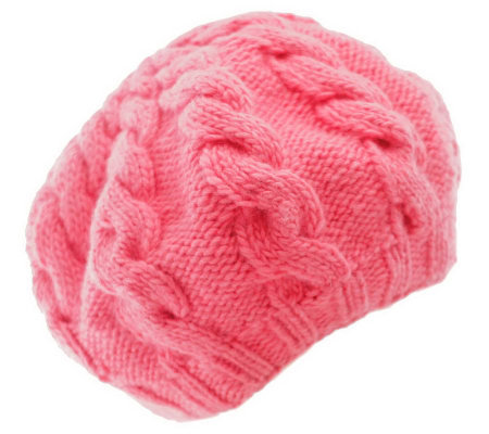 Nirvanna Designs Women's Cable Beret