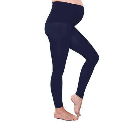 Preggers Maternity Footless Tights with Gradient Compression