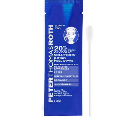 Peter Thomas Roth 20% Glycolic Solutions JumboPeel Swabs