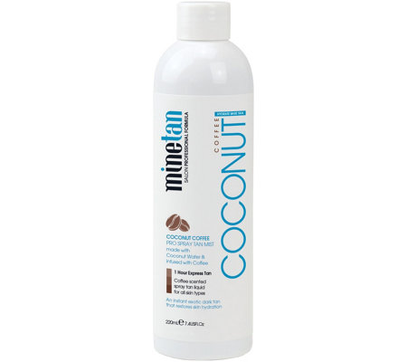 MineTan Coconut Coffee Mist, 7.4 oz