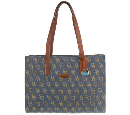 Dooney & Bourke Signature Denim East/West Tote Bag