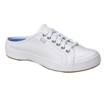 white leather keds sport