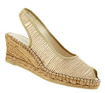 Azura by Spring Step Wedge Espadrille Sandals -Jeanette - A179825