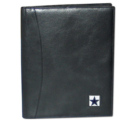 NFL Dallas Cowboys Leather Portfolio