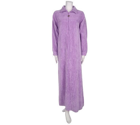 Stan Herman Zip Front Signature Chenille Robe Page 1