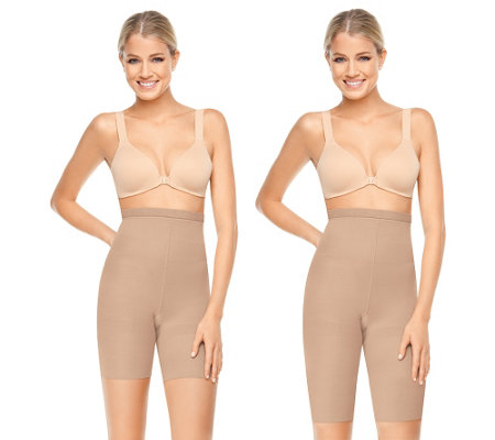 Spanx Higher Power Extended Length and Regular Length 2 Pack