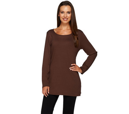 Liz Claiborne New York Essentials Long Sleeve Knit Tunic