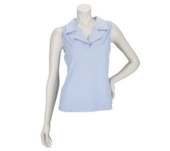 """As Is"" Kathleen Kirkwood Notch Collar Camisole - A251725"
