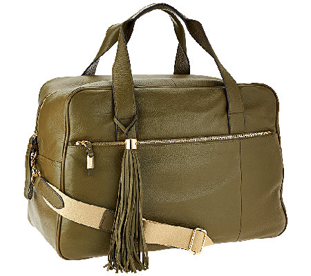 G.I.L.I. Leather Weekender Bag