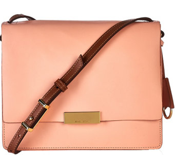 Isaac Mizrahi Live! Whitney Leather Shoulder Bag - A271225