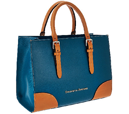 """As Is"" Dooney & Bourke Claremont Leather Janine Satchel"