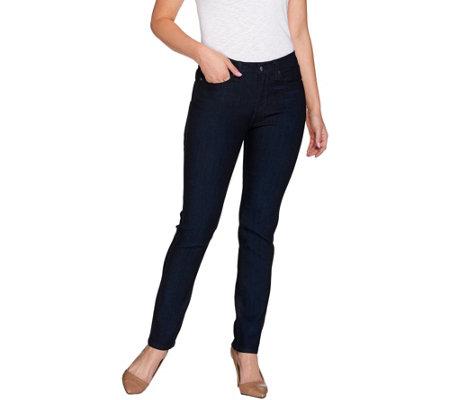 SkinnyJeans 2 Petite Straight Leg Jeans - Page 1 — QVC.com
