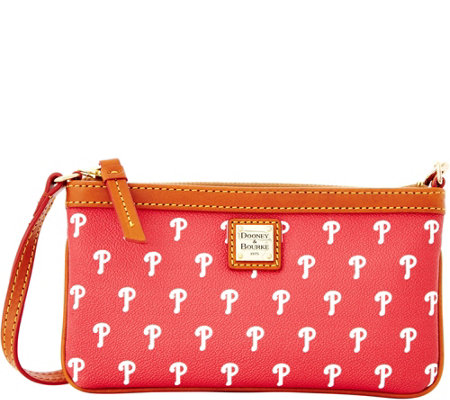Dooney & Bourke MLB Phillies Large Slim Wristlet