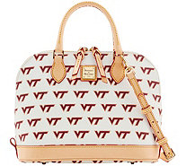 Dooney & Bourke NCAA Virginia Tech University Zip Zip Satchel - A283225
