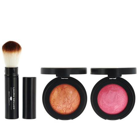 Laura Geller Back From the Vault Blush Duo with Brush
