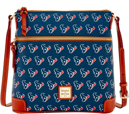 Dooney & Bourke NFL Texans Crossbody