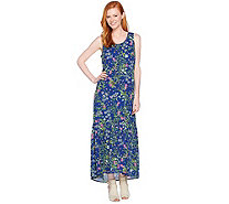 C. Wonder Regular Botanical Floral Print Maxi Dress - A288825