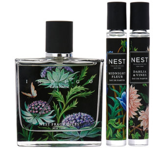 NEST Fragrances 1.7 oz. Indigo Eau de Parfum & Rollerball Duo - A289925