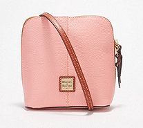 Dooney & Bourke Pebble Leather Crossbody Handbag -Trixie - A296325