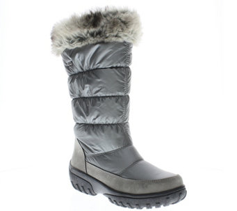 Spring Step Nylon Waterproof Winter Boots - Vanish - A334425