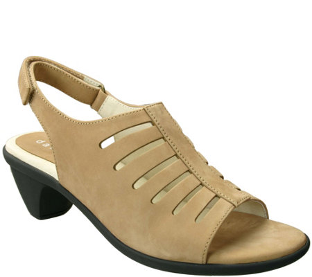 David Tate Leather Sandals - Lexus