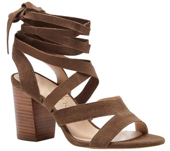 Sole Society Suede Wrap-around Strappy Sandal -Lyla - A340725