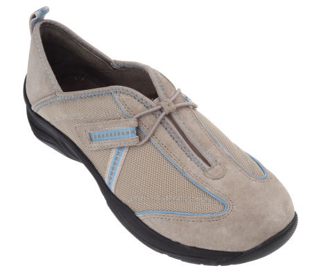 privo by clarks suede mesh slip on athletic shoes page